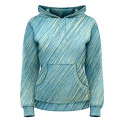 Light Blue Pattern Women s Pullover Hoodie by Valentinaart