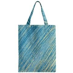 Light blue pattern Zipper Classic Tote Bag by Valentinaart
