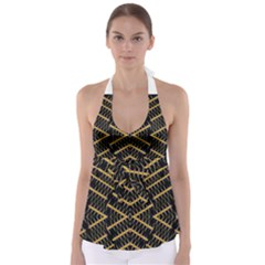 Art Digital (16)gfetju Babydoll Tankini Top