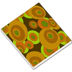 Brown Pattern Small Memo Pads by Valentinaart