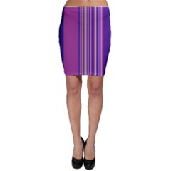 Striped color Bodycon Skirt by olgart