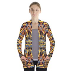 4646 Women s Open Front Pockets Cardigan(P194) by MRTACPANS