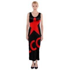 Russia Fitted Maxi Dress by Valentinaart
