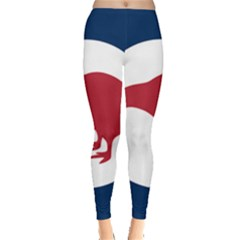 Roundel Of New Zealand Air Force Leggings  by abbeyz71