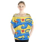 National Coat Of Arms Of Denmark Blouse