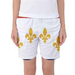 Flag Of New Orleans  Women s Basketball Shorts by abbeyz71