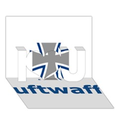 Luftwaffe I Love You 3d Greeting Card (7x5) by abbeyz71