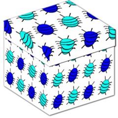 Blue Bugs Storage Stool 12   by Valentinaart