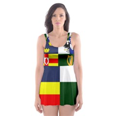 Four Provinces Flag Of Ireland Skater Dress Swimsuit by abbeyz71