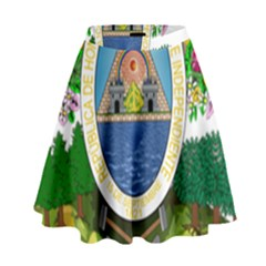Coat Of Arms Of Honduras High Waist Skirt by abbeyz71