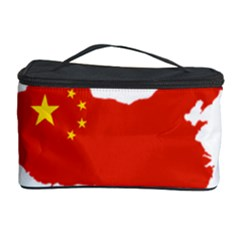 Flag Map Of China Cosmetic Storage Case by abbeyz71