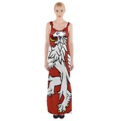 Bohemia Coat Of Arms  Maxi Thigh Split Dress by abbeyz71