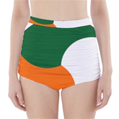 Irish Air Corps Roundel High-Waisted Bikini Bottoms by abbeyz71
