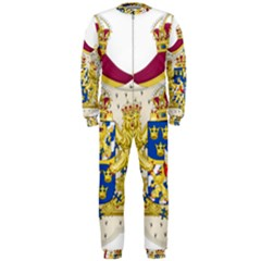 Greater Coat Of Arms Of Sweden  Onepiece Jumpsuit (men)  by abbeyz71