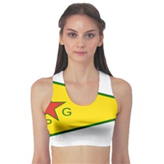 Flag Of The People s Protection Units Sports Bra by abbeyz71