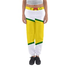 Flag Of The People s Protection Units Women s Jogger Sweatpants by abbeyz71