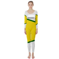 Flag Of The People s Protection Units Long Sleeve Catsuit by abbeyz71