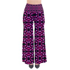 Dots Pattern Pink Pants by BrightVibesDesign