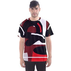 Crazy Abstraction Men s Sport Mesh Tee by Valentinaart