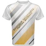SCPB Mens Faded Stripes T-Shirt - Men s Cotton Tee