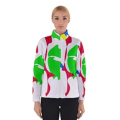 Colorful amoeba abstraction Winterwear by Valentinaart