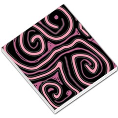 Decorative lines Small Memo Pads by Valentinaart