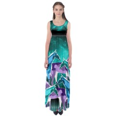 Galaxy Empire Waist Maxi Dress by DanaeStudio