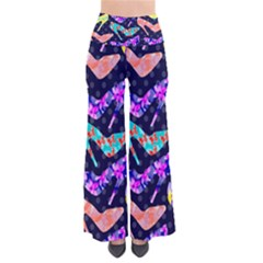 Colorful High Heels Pattern Women s Chic Palazzo Pants  by DanaeStudio