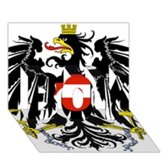 Coat Of Arms Of Austria Boy 3d Greeting Card (7x5) by abbeyz71