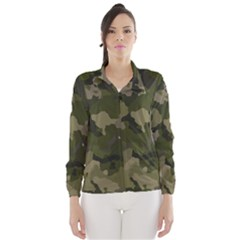 Huntress Camouflage Wind Breaker (women) by TRENDYcouture