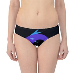 Blue fishes Hipster Bikini Bottoms