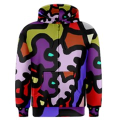 Colorful Abstraction By Moma Men s Zipper Hoodie by Valentinaart