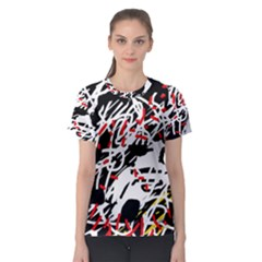Colorful Chaos By Moma Women s Sport Mesh Tee by Valentinaart