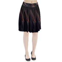 Painted Pleated Skirt by designsbyamerianna