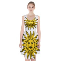 Uruguay Sun Of May Racerback Midi Dress by abbeyz71