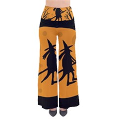 Halloween Witch   Orange Moon Pants by Valentinaart