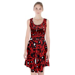 Red Racerback Midi Dress
