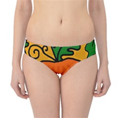 Thanksgiving pumpkin Hipster Bikini Bottoms