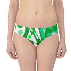 White and green decor Hipster Bikini Bottoms