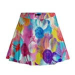 Anemones Mini Flare Skirt
