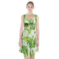 Fern Leaves Racerback Midi Dress by DanaeStudio