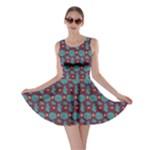 Manatee Love Blue Skater Dress