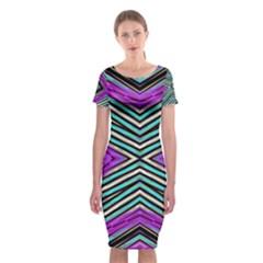LA LOI Classic Short Sleeve Midi Dress by MRTACPANS
