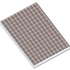 Chequered Plaid Large Memo Pads by olgart