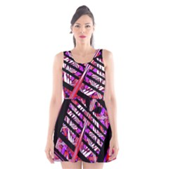 Cut Out Scoop Neck Skater Dress by MRTACPANS