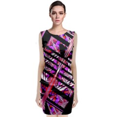 Cut Out Classic Sleeveless Midi Dress by MRTACPANS