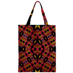 TWO HEART Zipper Classic Tote Bag by MRTACPANS