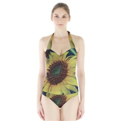 Sunflower Photography  Halter Swimsuit by vanessagf