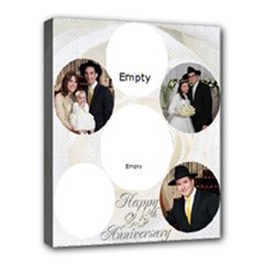 anniversary - Deluxe Canvas 20  x 16  (Stretched)