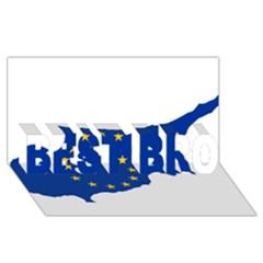 European Flag Map Of Cyprus  Best Bro 3d Greeting Card (8x4) by abbeyz71